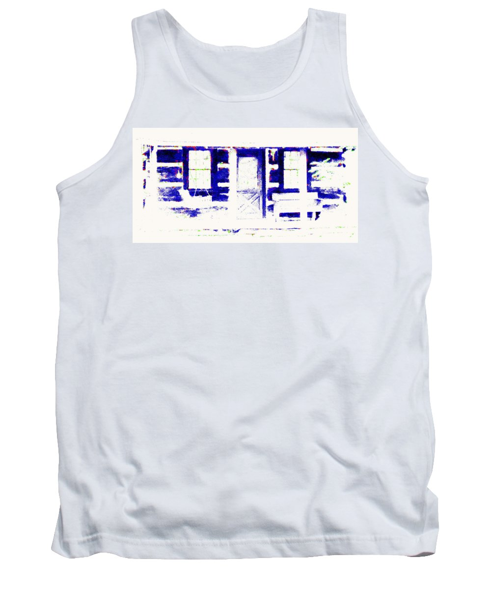 Summer Cottage Tank Top featuring the photograph Summer Cottage by Ed Smith
