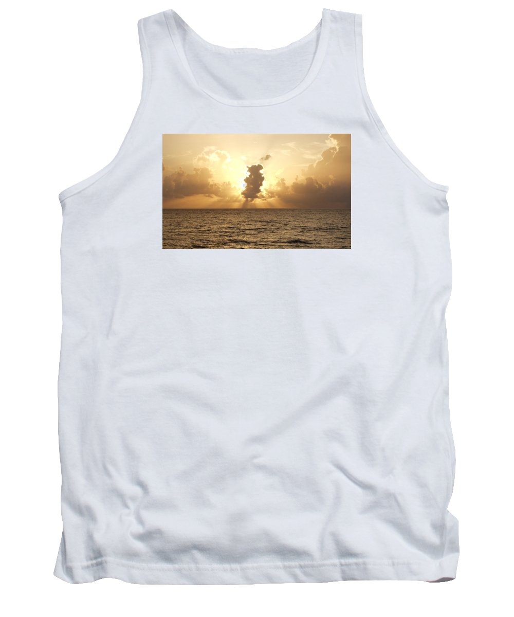 Sun Tank Top featuring the photograph Sunblock by Bruce Roker