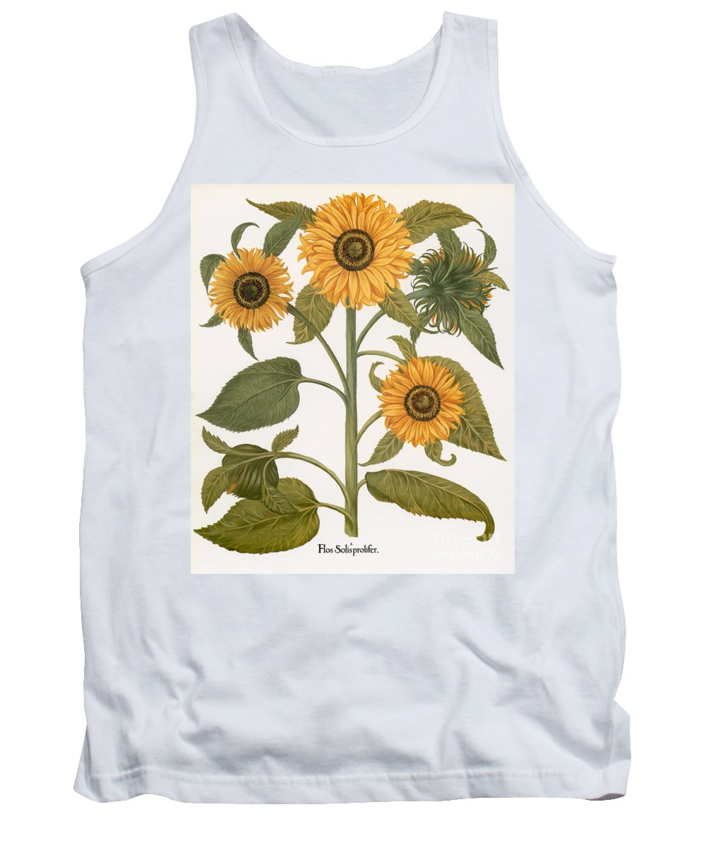 1613 Tank Top featuring the photograph Sunflower by Granger