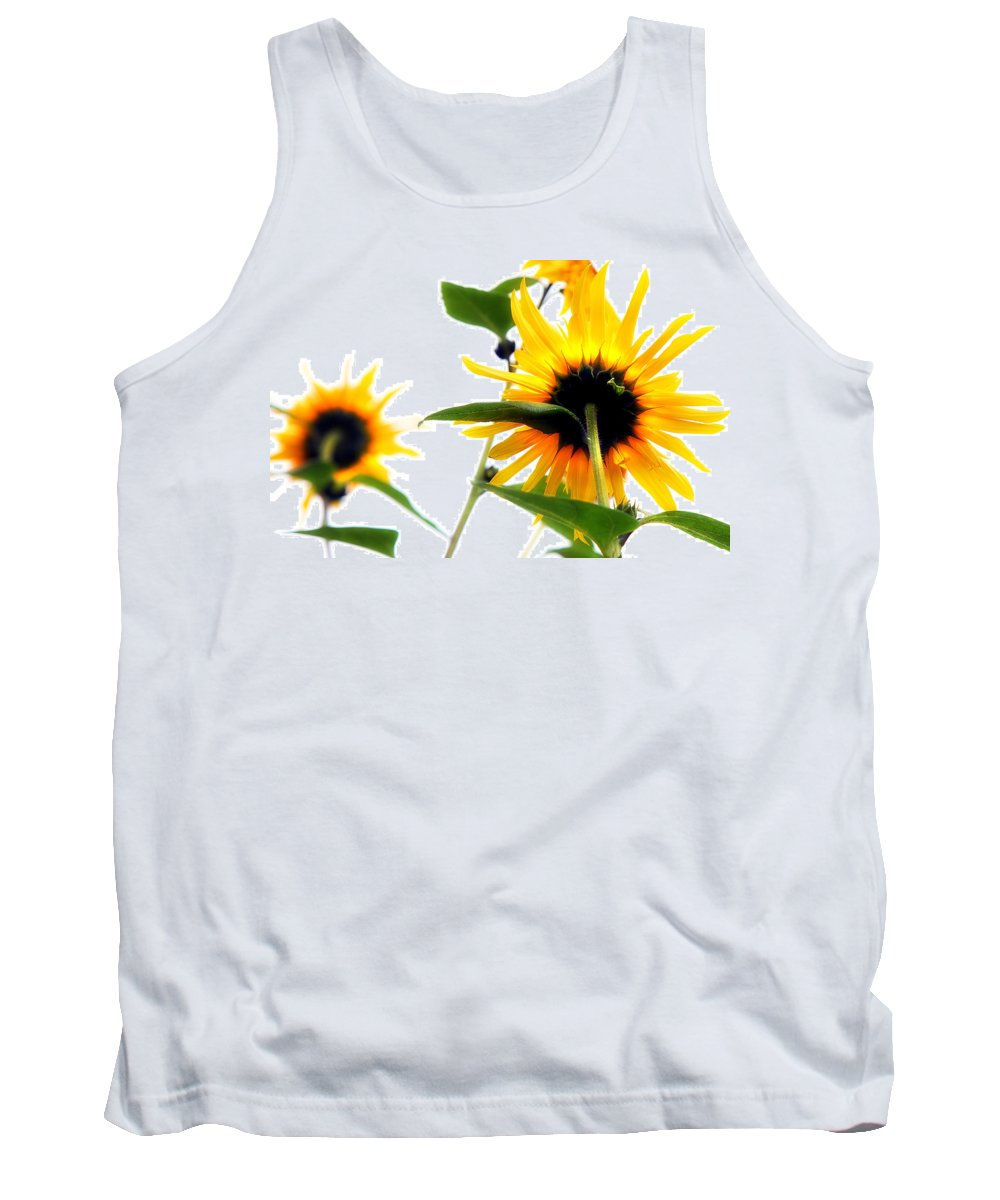 Sunflowers Tank Top featuring the photograph Sunflowers by Mal Bray