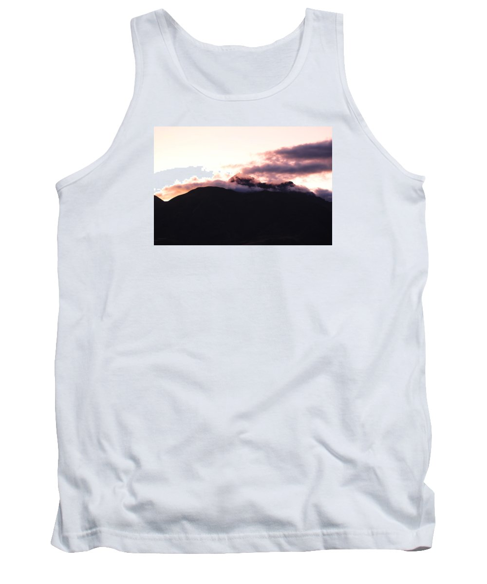 Sunset Tank Top featuring the photograph Sunset On Mount Cotacachi by Robert Hamm