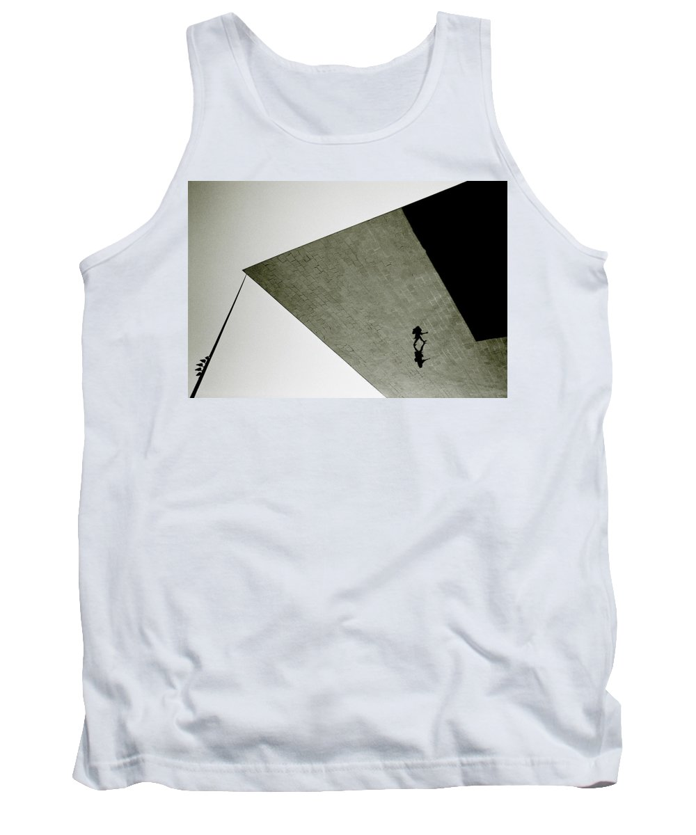 Surreal Tank Top featuring the photograph Surreal Isolation by Shaun Higson