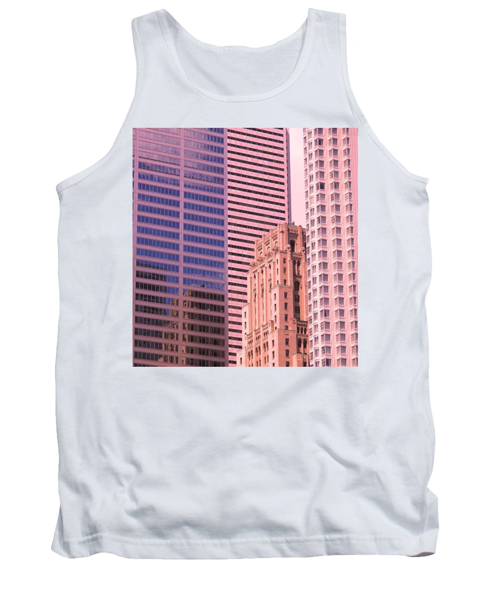 Office Buildings Tank Top featuring the photograph Surrounded by Ian MacDonald