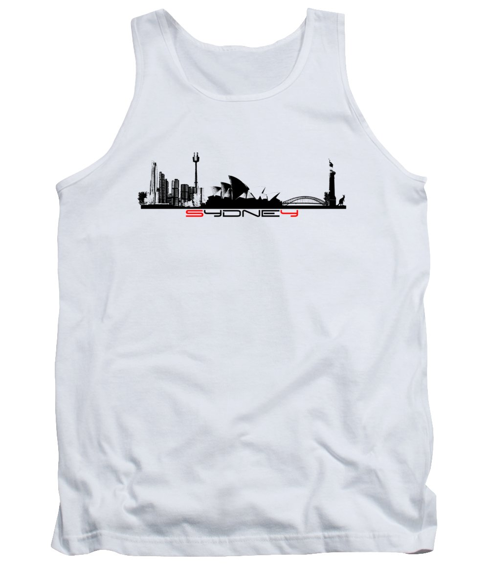 Sydney Skyline Tank Tops