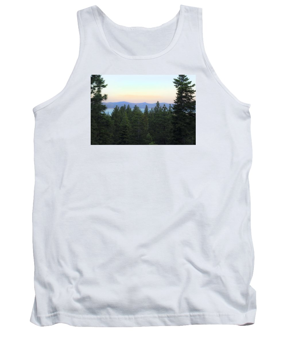 Tahoe Tank Top featuring the photograph Tahome Sunrise by Austin Costanza
