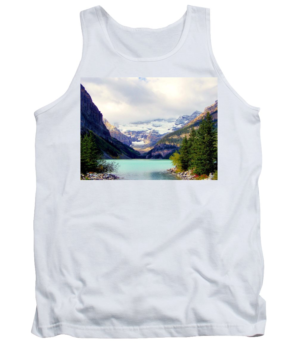 Waterscapes Tank Top featuring the photograph The Beauty Within by Karen Wiles