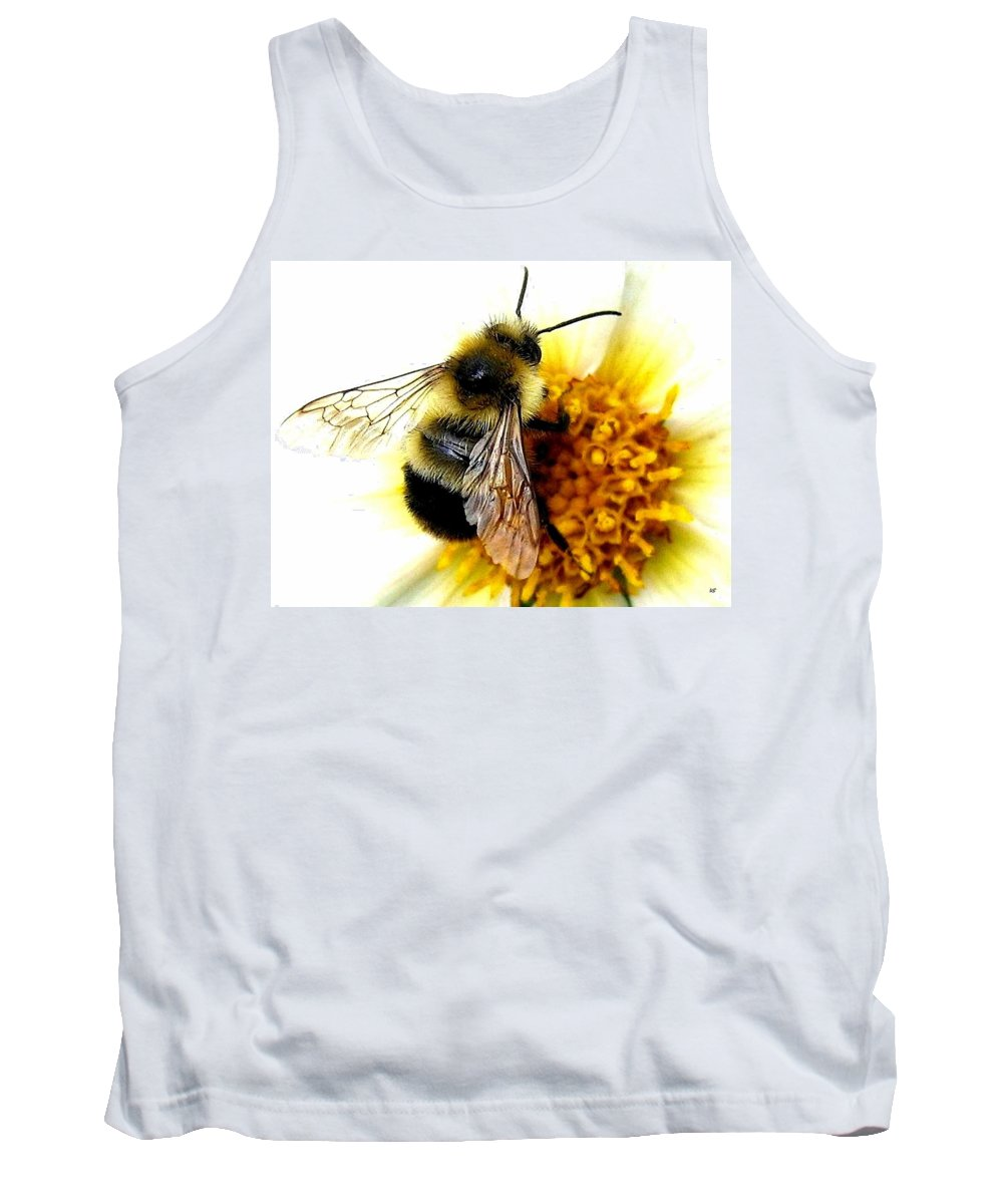 Honeybee Tank Top featuring the photograph The Buzz by Will Borden