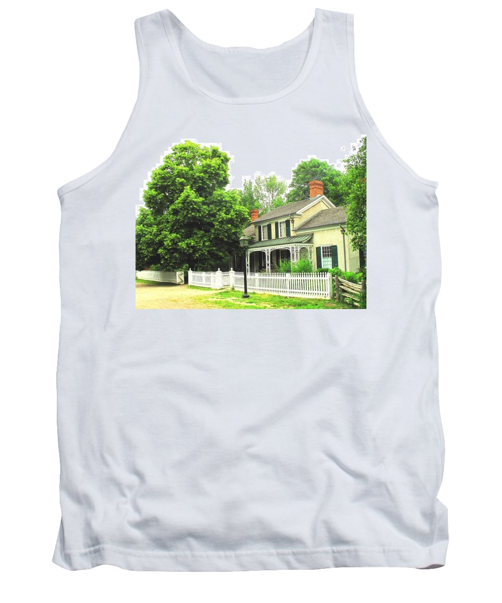 Doctor Tank Top featuring the photograph The Doctors House by Ian MacDonald
