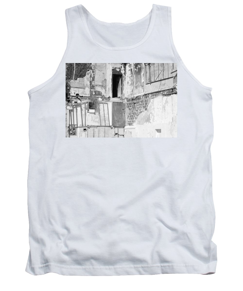 Architecture Tank Top featuring the photograph The Doorway To Darkness by Rob Hans