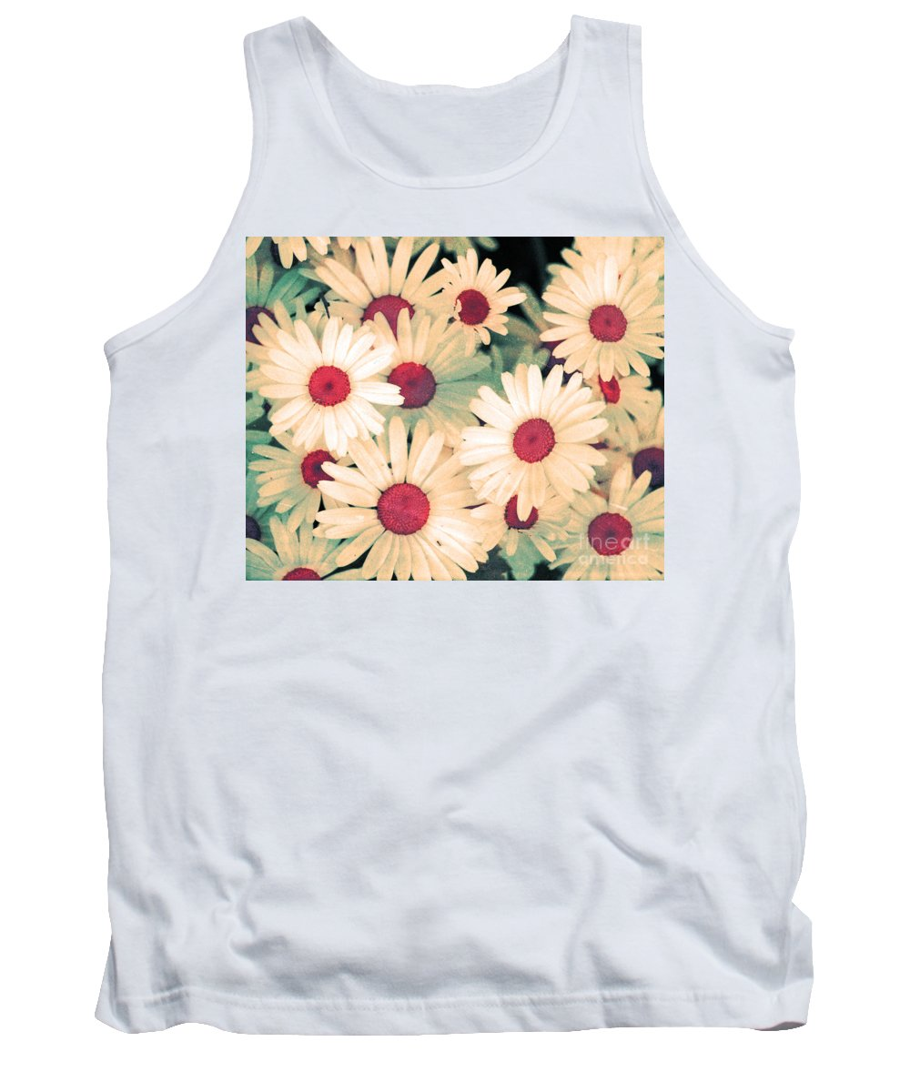 Flowers Tank Top featuring the photograph The Flowers At 5 Am by Tara Turner