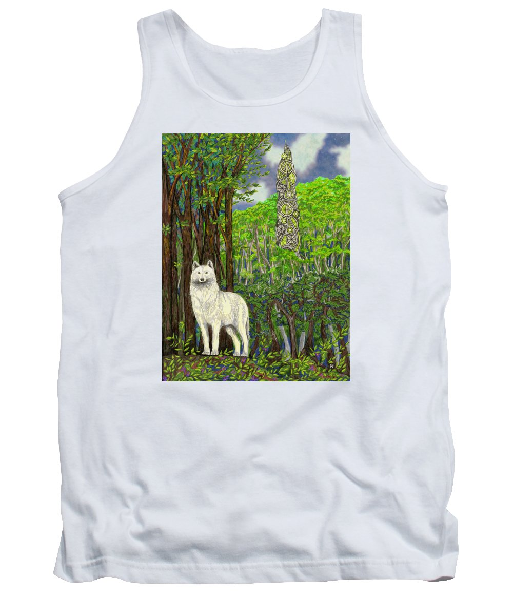 Dreams Tank Top featuring the drawing The Glass by FT McKinstry