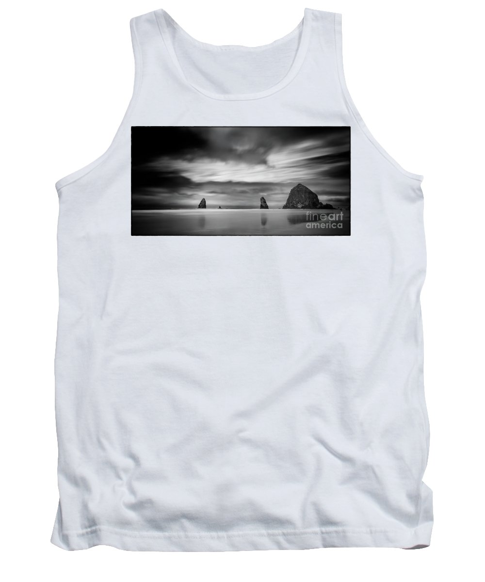 Longexposure Tank Top featuring the photograph The Haystack's Brothers by James A Crawford