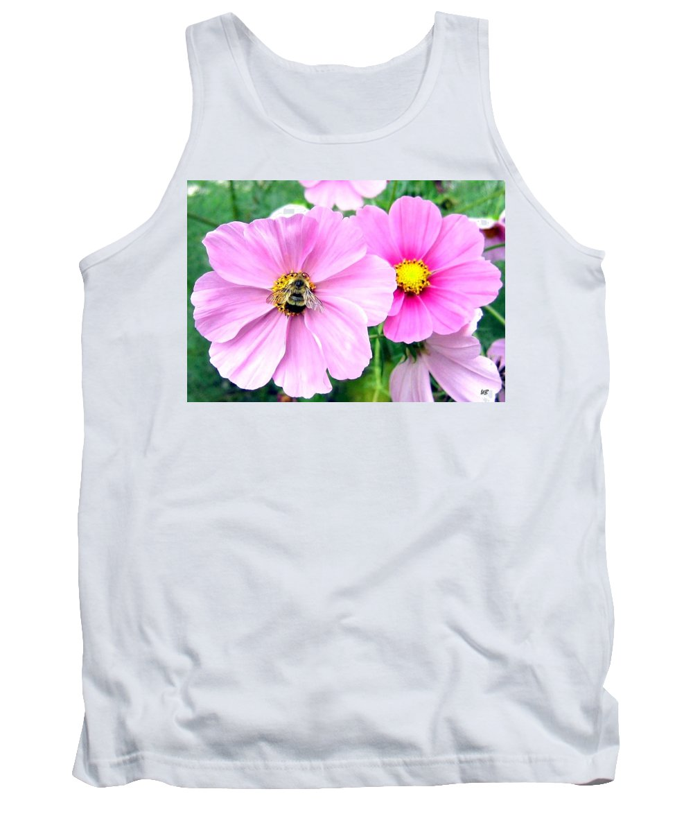Bee Tank Top featuring the photograph The Honeymaker by Will Borden