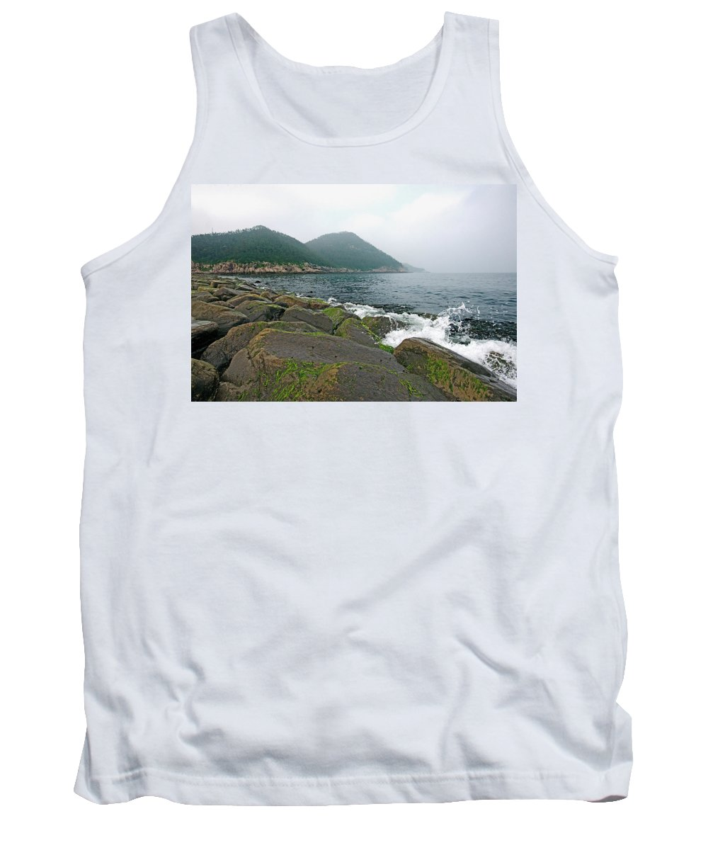Islands Tank Top featuring the photograph The Island by Eric Nelson