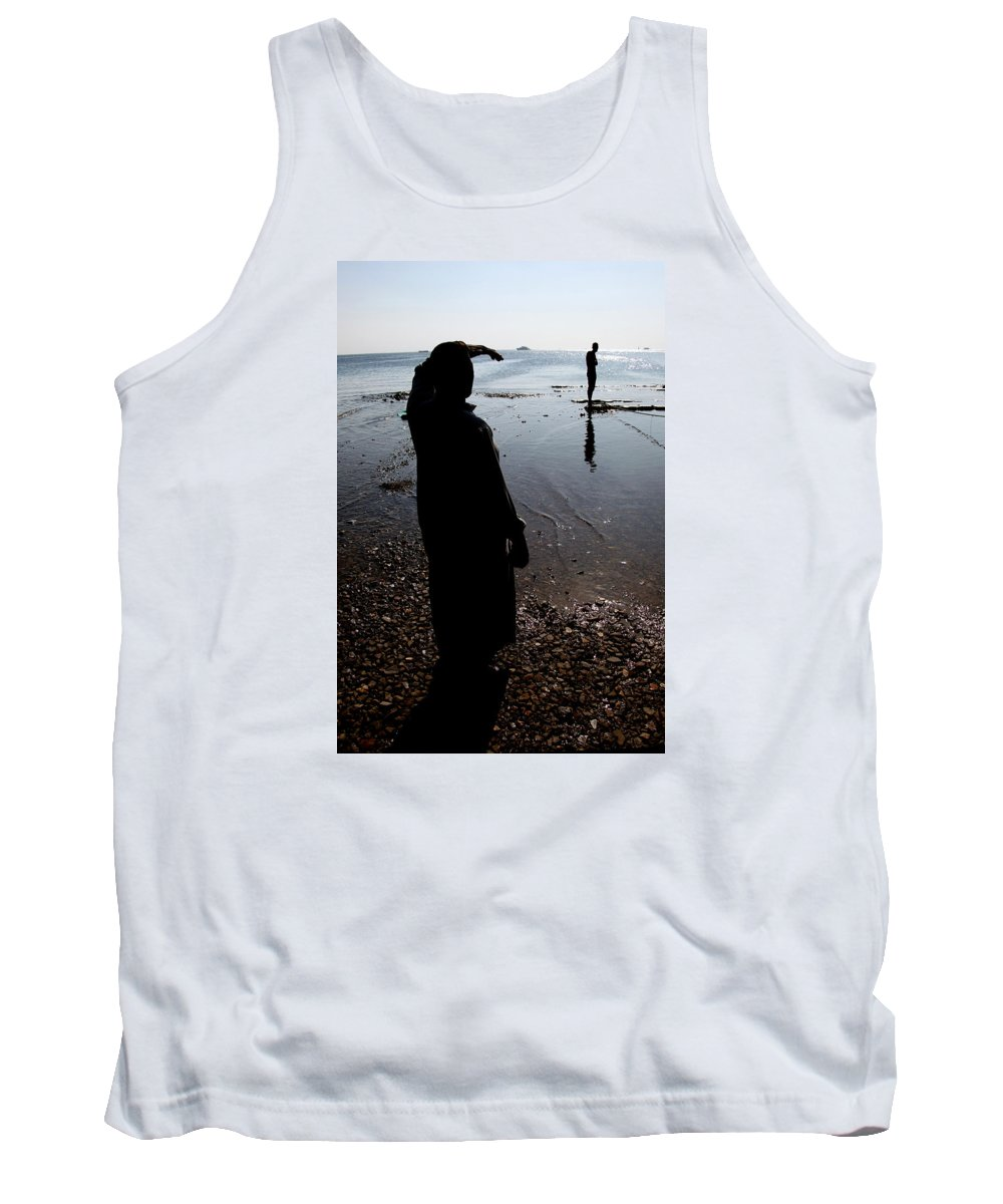 Hurghada Tank Top featuring the photograph The Land Is by Jez C Self