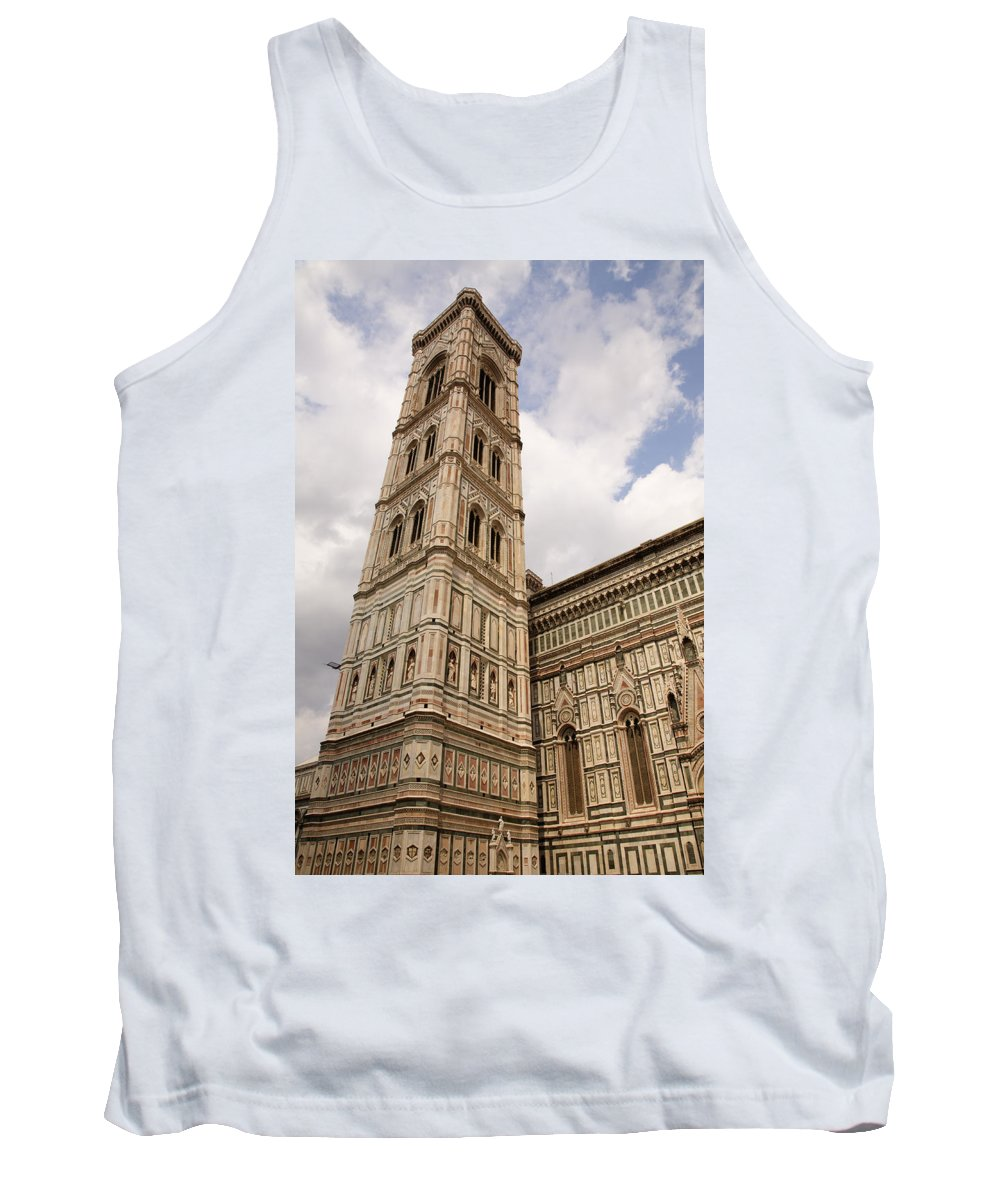 Tuscany Tank Top featuring the photograph The Neo Gothic Facade Of The Duomo In Florence by Ian Middleton