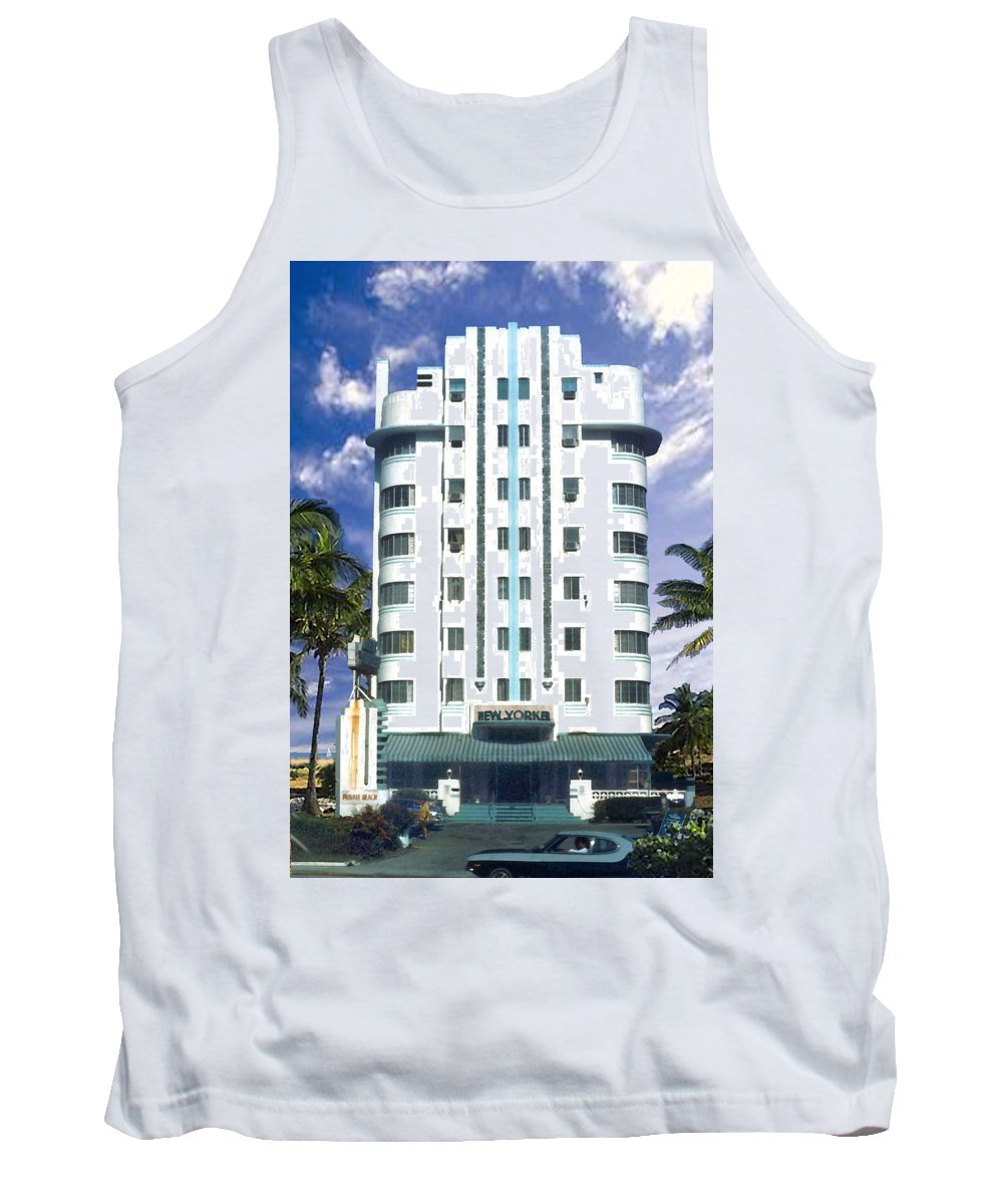 Miami Tank Top featuring the photograph The New Yorker by Steve Karol