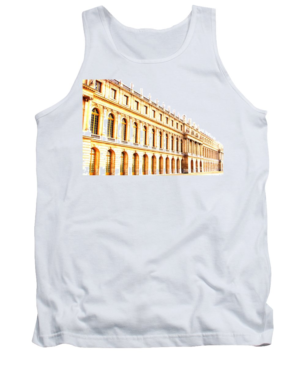 Versailles Tank Top featuring the photograph The Palace by Amanda Barcon