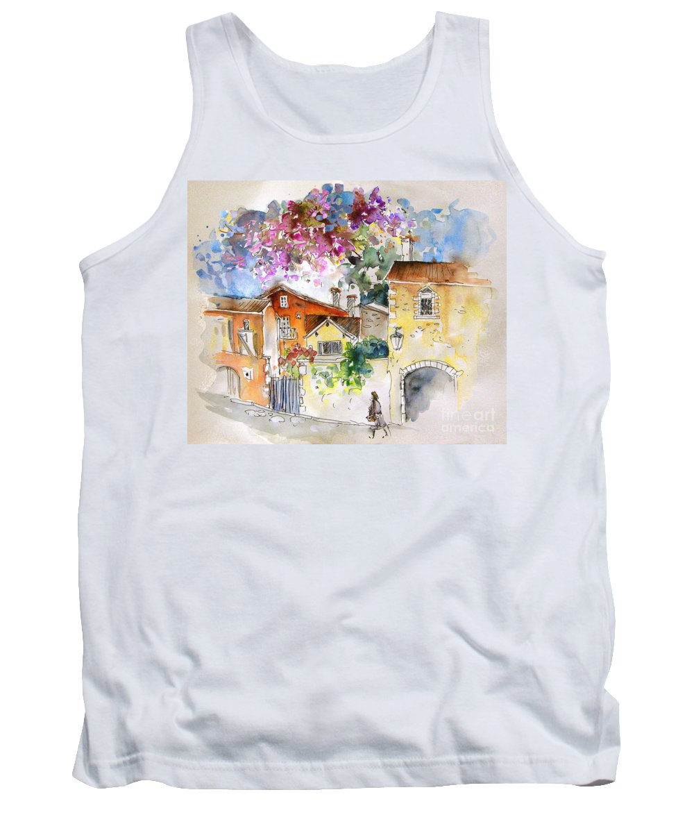 France Paintings Tank Top featuring the painting The Perigord In France by Miki De Goodaboom