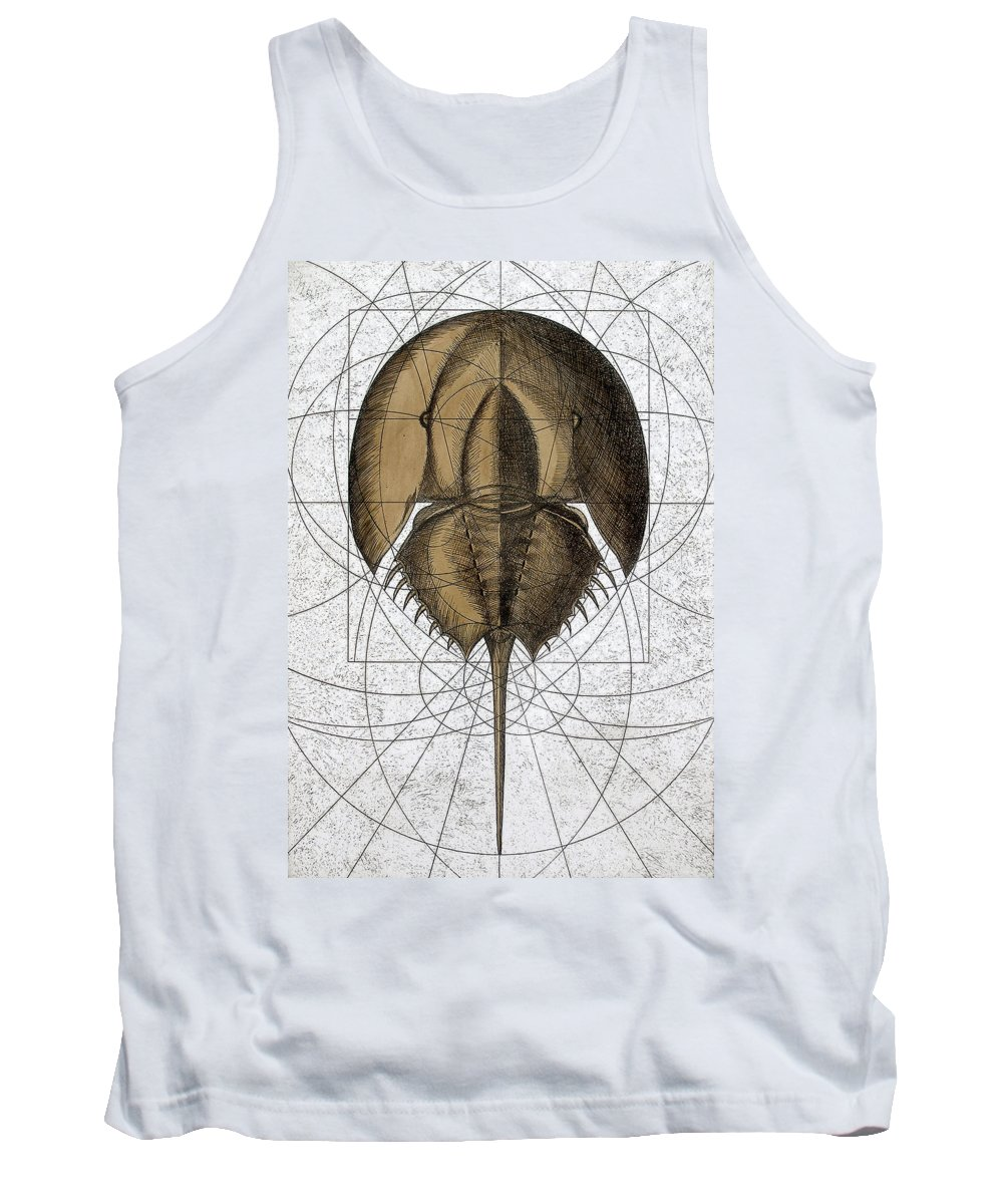 Charles Harden Tank Top featuring the painting The Remnant by Charles Harden
