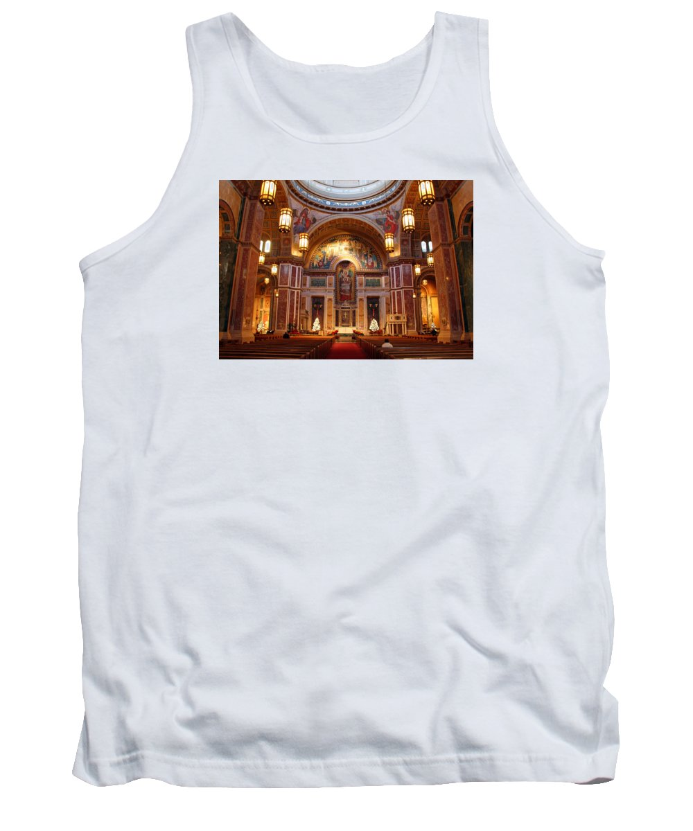 Saint Tank Top featuring the photograph The Sanctuary Of Saint Matthew's Cathedral by Cora Wandel