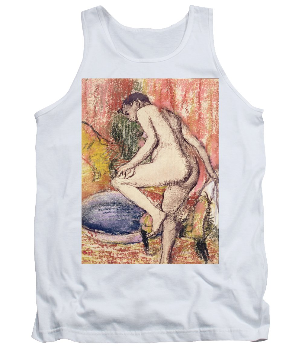 The Tank Top featuring the pastel The Toilet by Edgar Degas