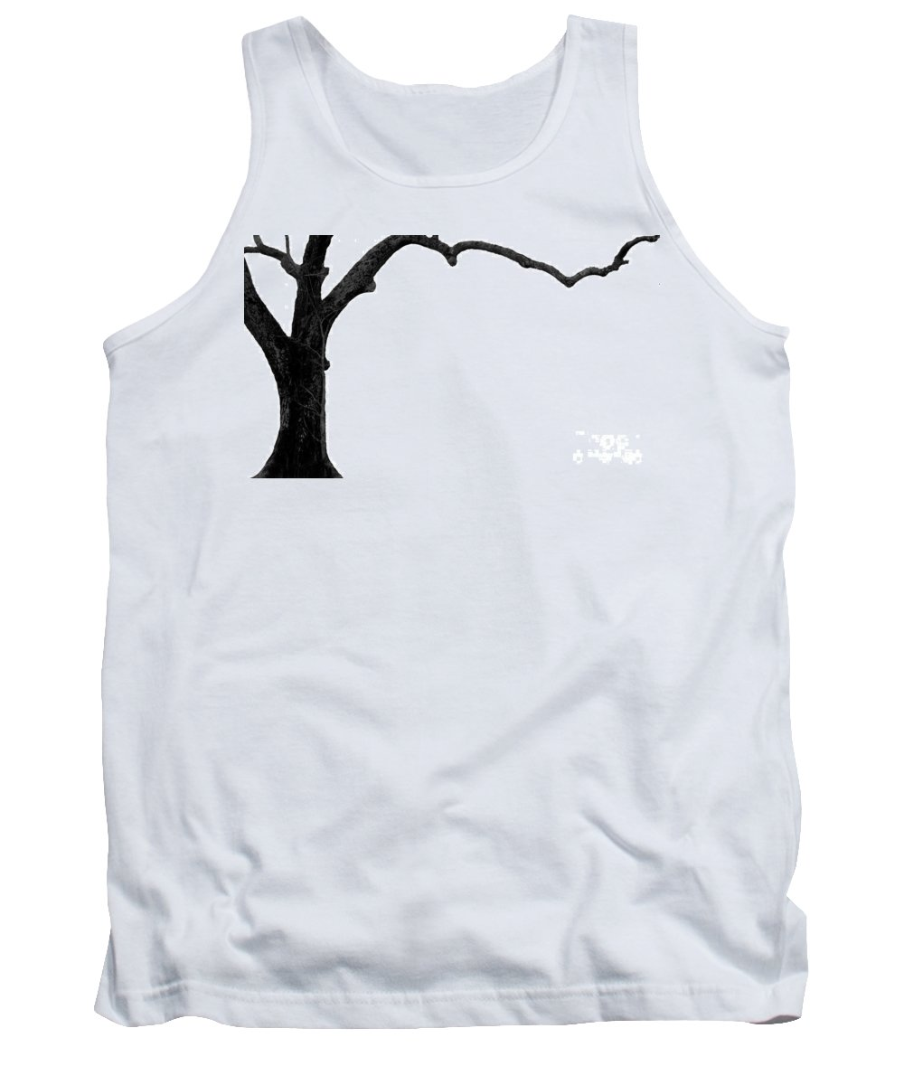 Tree Tank Top featuring the photograph The tree by Amanda Barcon