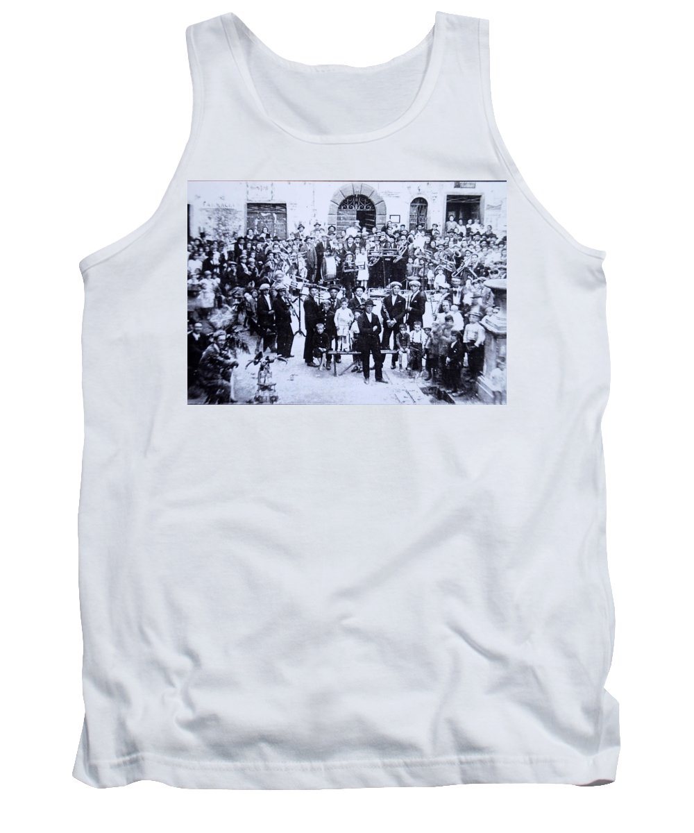 Tuscany Tank Top featuring the photograph The Village Band by Kurt Hausmann