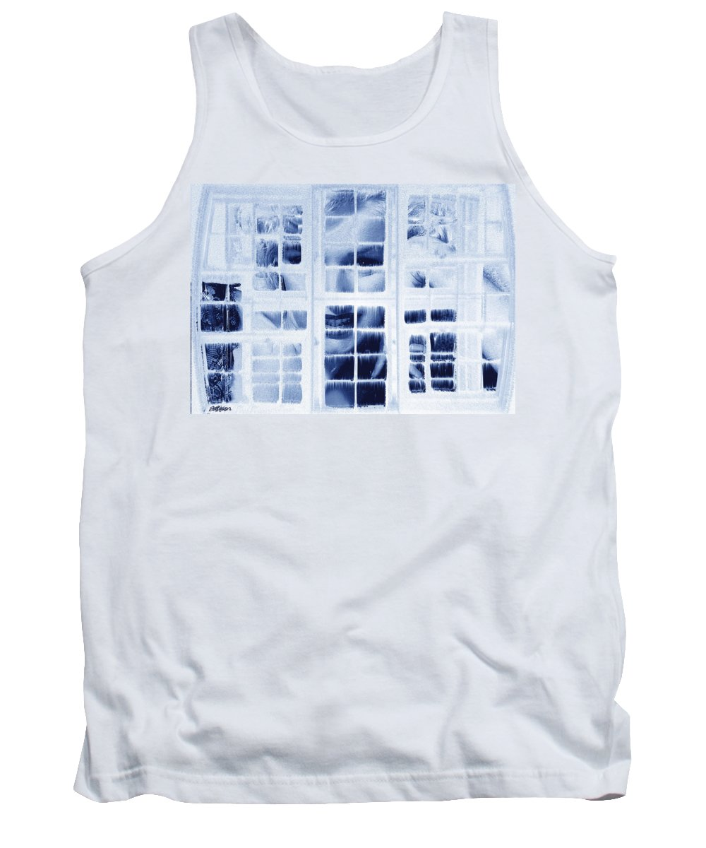 Marilyn Monroe Tank Top featuring the digital art The Voyeur by Seth Weaver