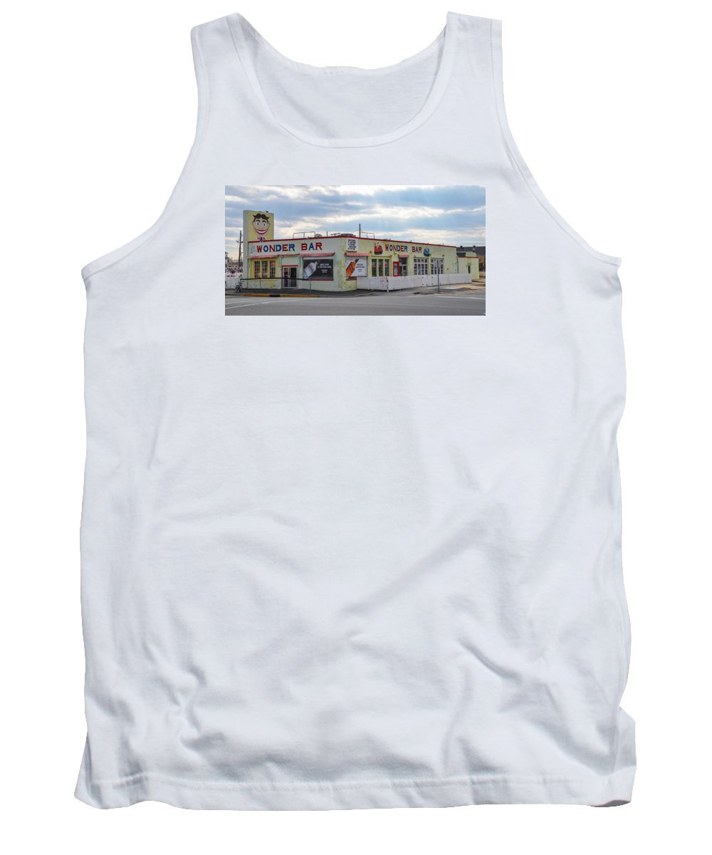 Wonder Tank Top featuring the photograph The Wonder Bar - Asbury Park New Jersey by Bill Cannon