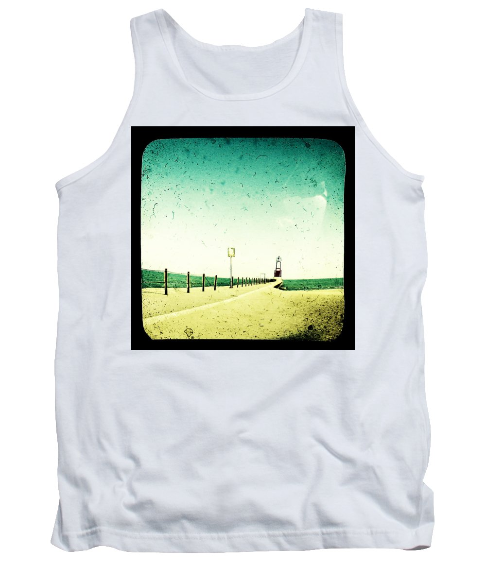 Beach Tank Top featuring the photograph These Days Are Gone by Dana DiPasquale
