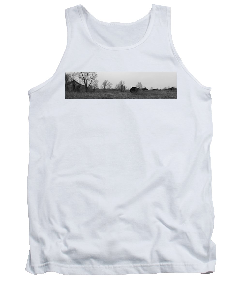 They Gave Us Their All Tank Top featuring the photograph They Gave Us Their All by Ed Smith
