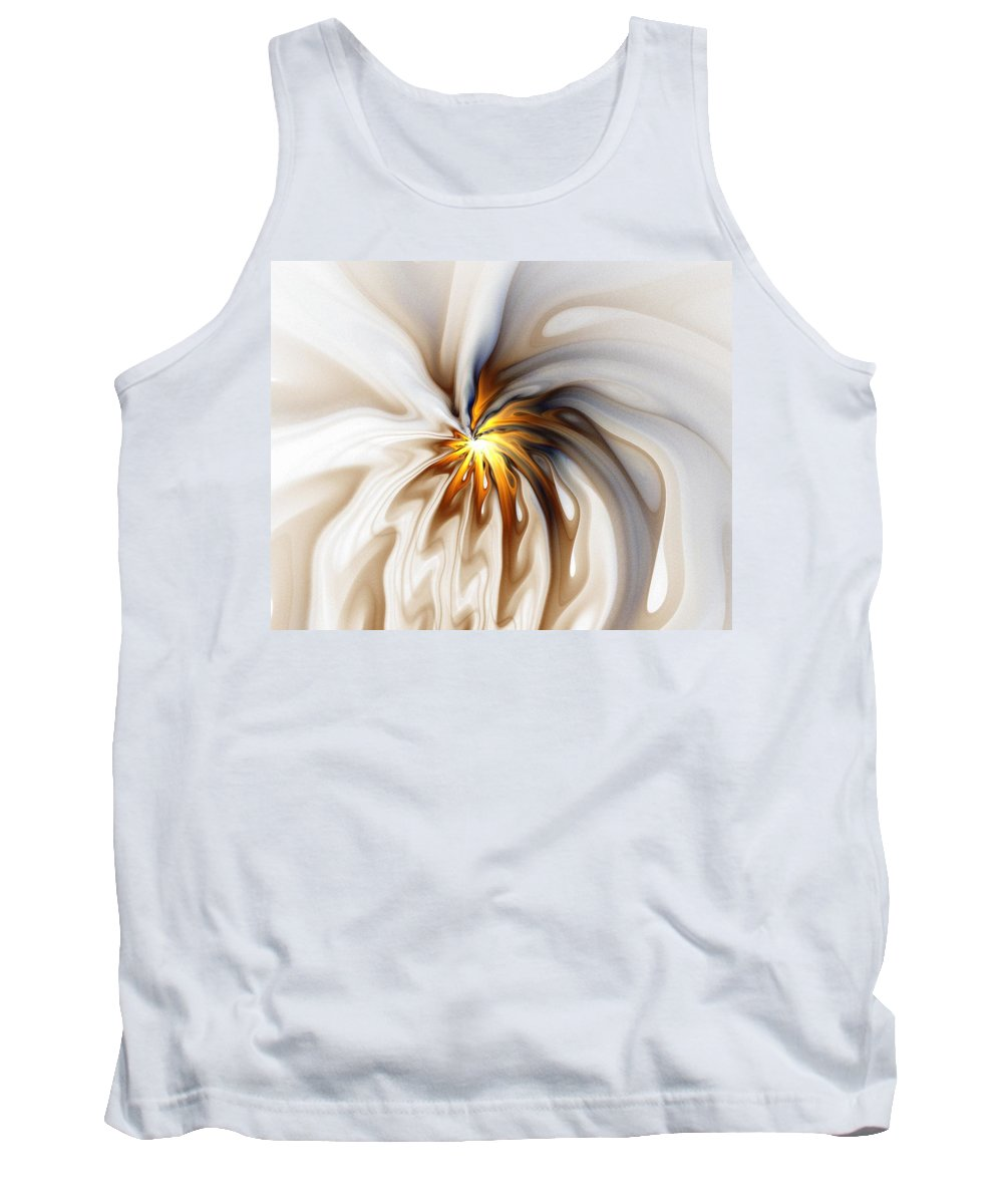 Digital Art Tank Top featuring the digital art This Too Will Pass... by Amanda Moore