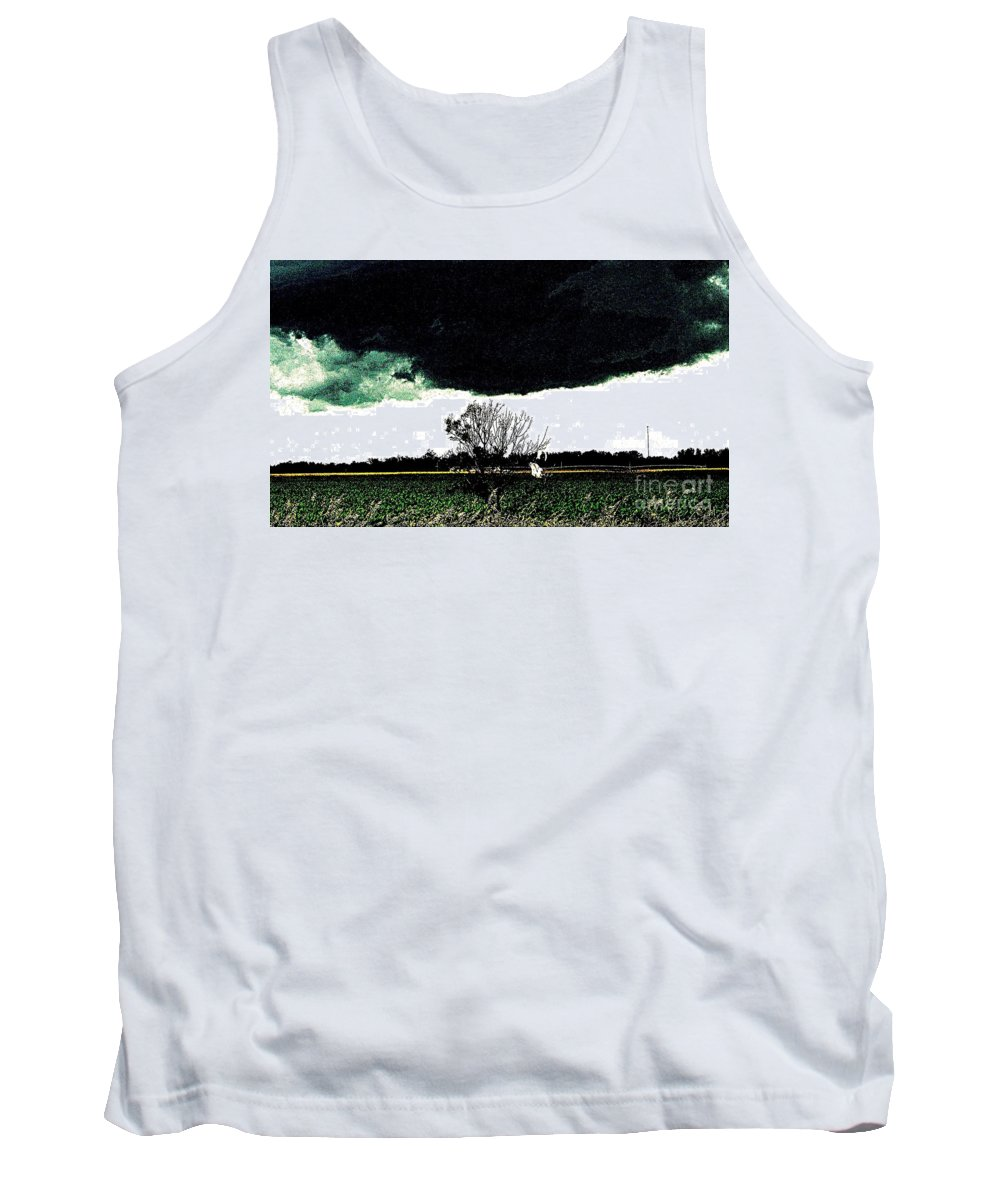 Clouds Tank Top featuring the photograph This Darkness Is But For A Time by Curtis Tilleraas