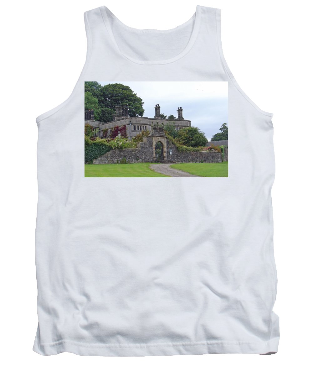 Europe Tank Top featuring the photograph Tissington Hall by Rod Johnson