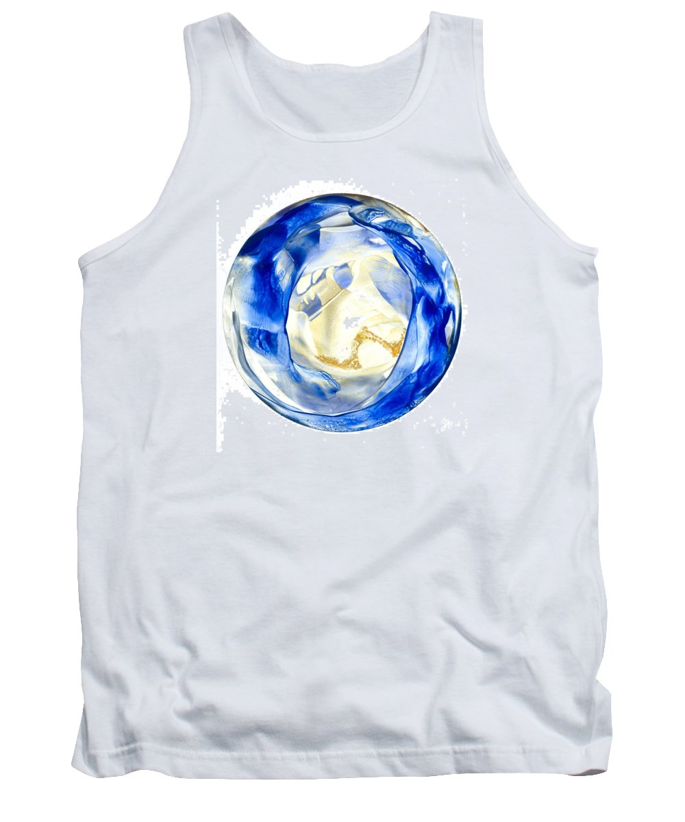 Mandala Tank Top featuring the painting to See your Truth by Heather Hennick