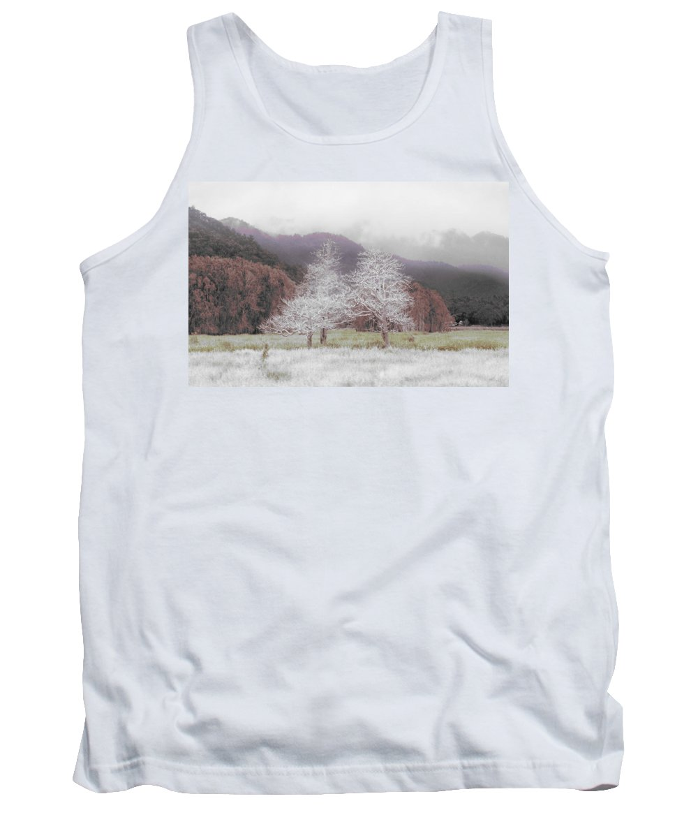 Landscape Tank Top featuring the photograph Together We Stand by Holly Kempe