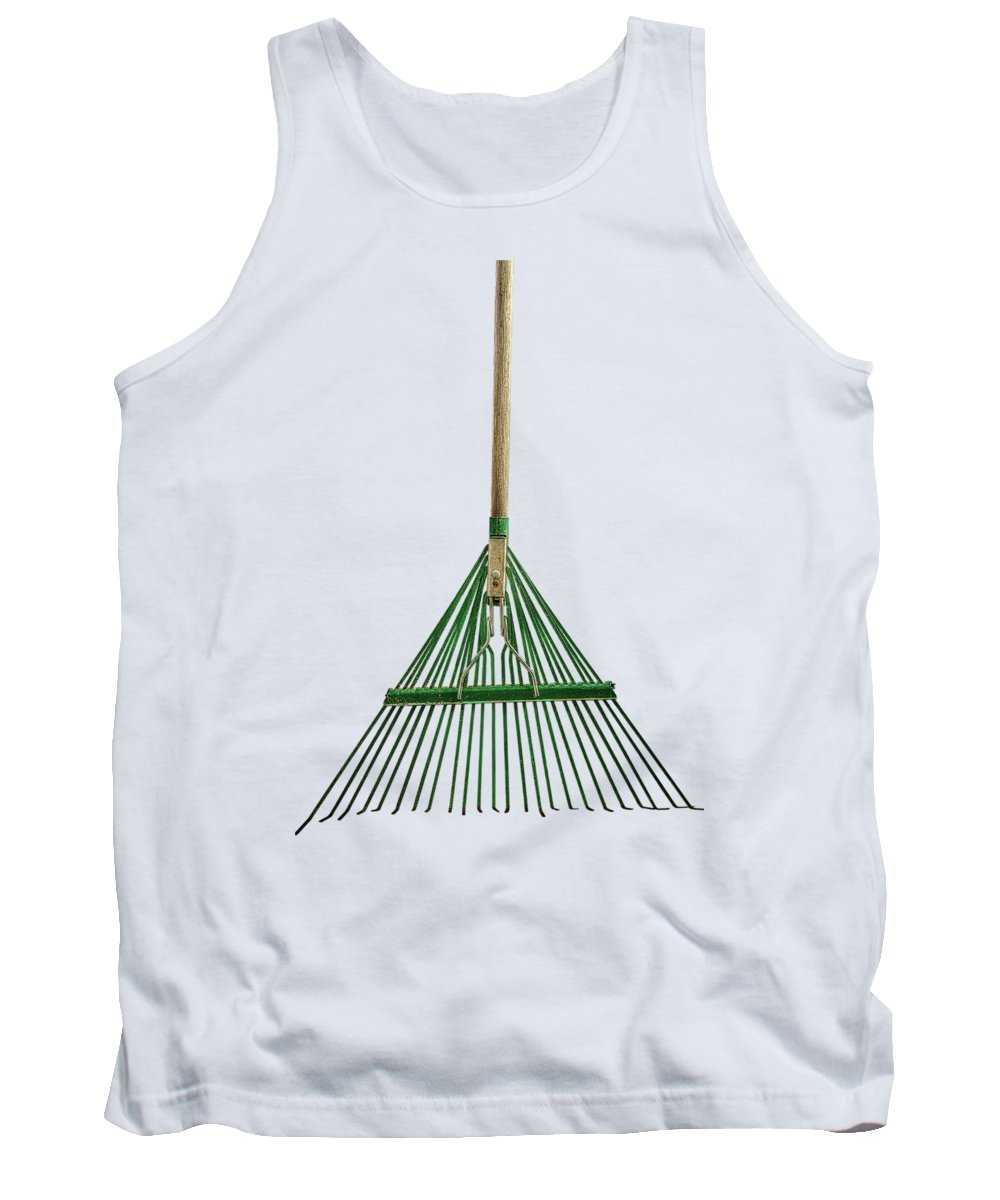 Art Tank Top featuring the photograph Tools On Wood 10 on BW by YoPedro