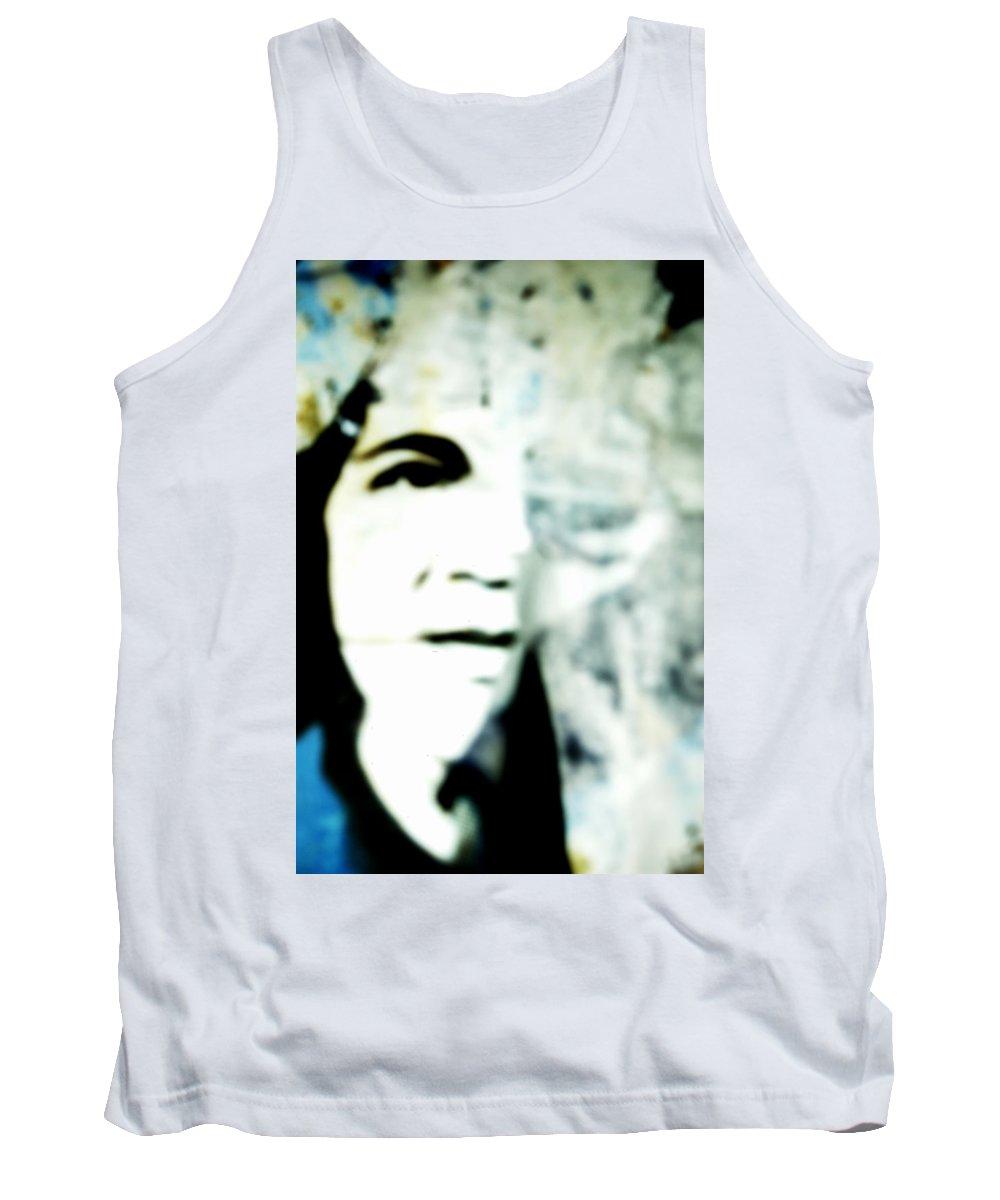 Black Tank Top featuring the photograph Torn by Sara Stevenson