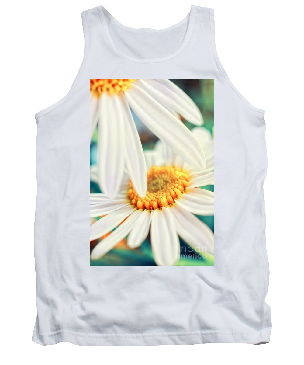 Flowers Tank Top featuring the photograph Touch by Silvia Ganora