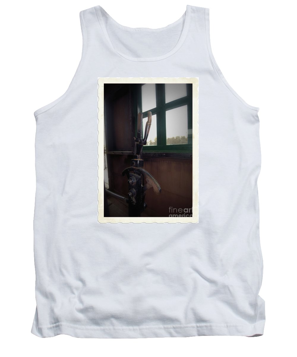 Train Tank Top featuring the photograph Trains 6 5a by Jay Mann