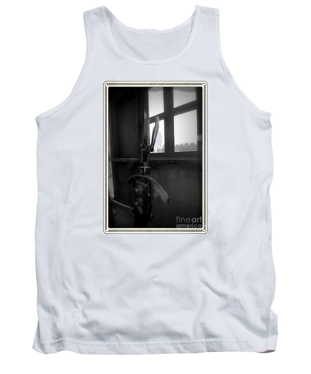 Train Tank Top featuring the photograph Trains 6 6a by Jay Mann