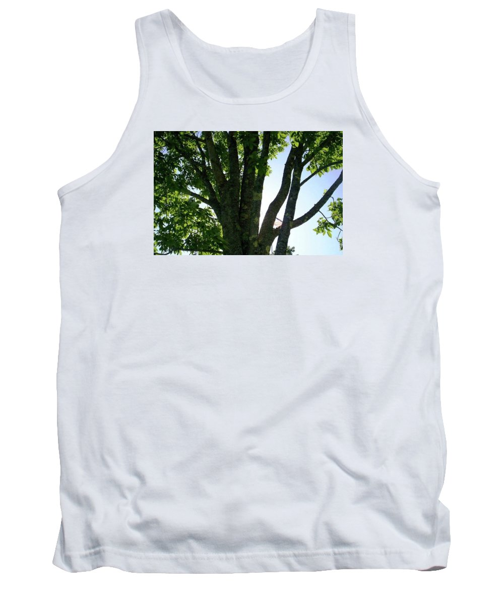 Tree Tank Top featuring the photograph Tree Of Life by Rebecca Sturm
