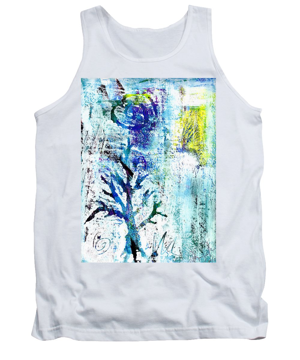 Tree Tank Top featuring the painting Tree Of Life by Wayne Potrafka