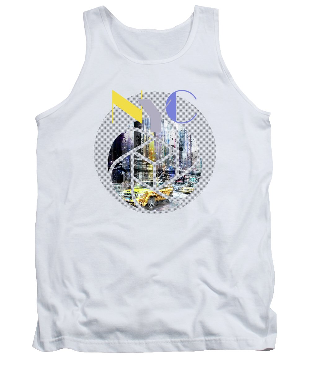 Time Square Photographs Tank Tops