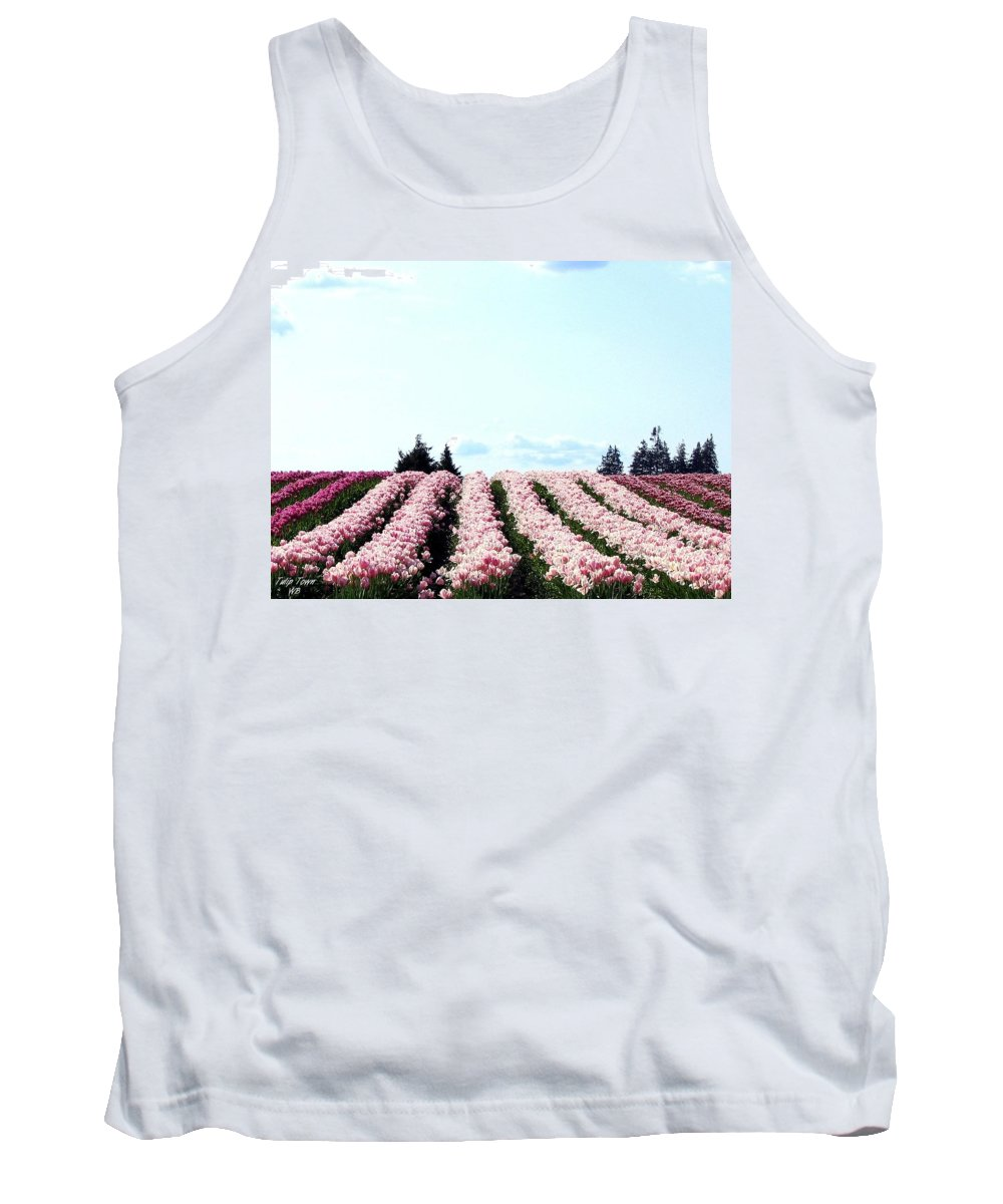 Agriculture Tank Top featuring the photograph Tulip Town 10 by Will Borden