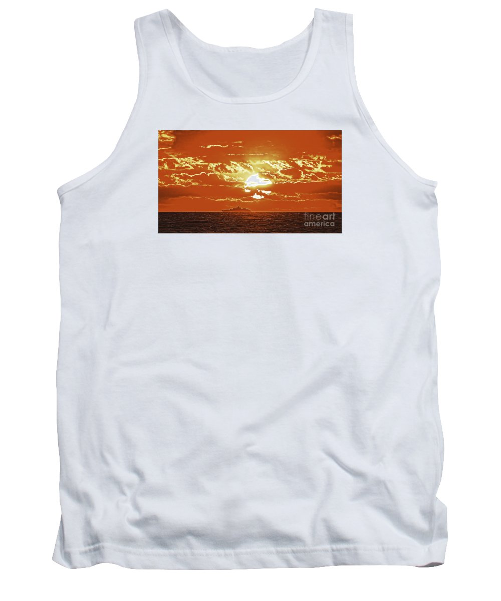 Borough Tank Top featuring the photograph Under A Different Light by Joe Geraci
