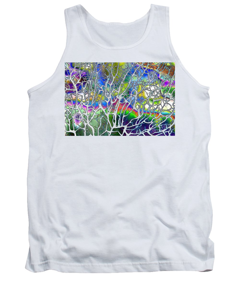 Colors Tank Top featuring the photograph Under The Sea Abstract by Carol Groenen