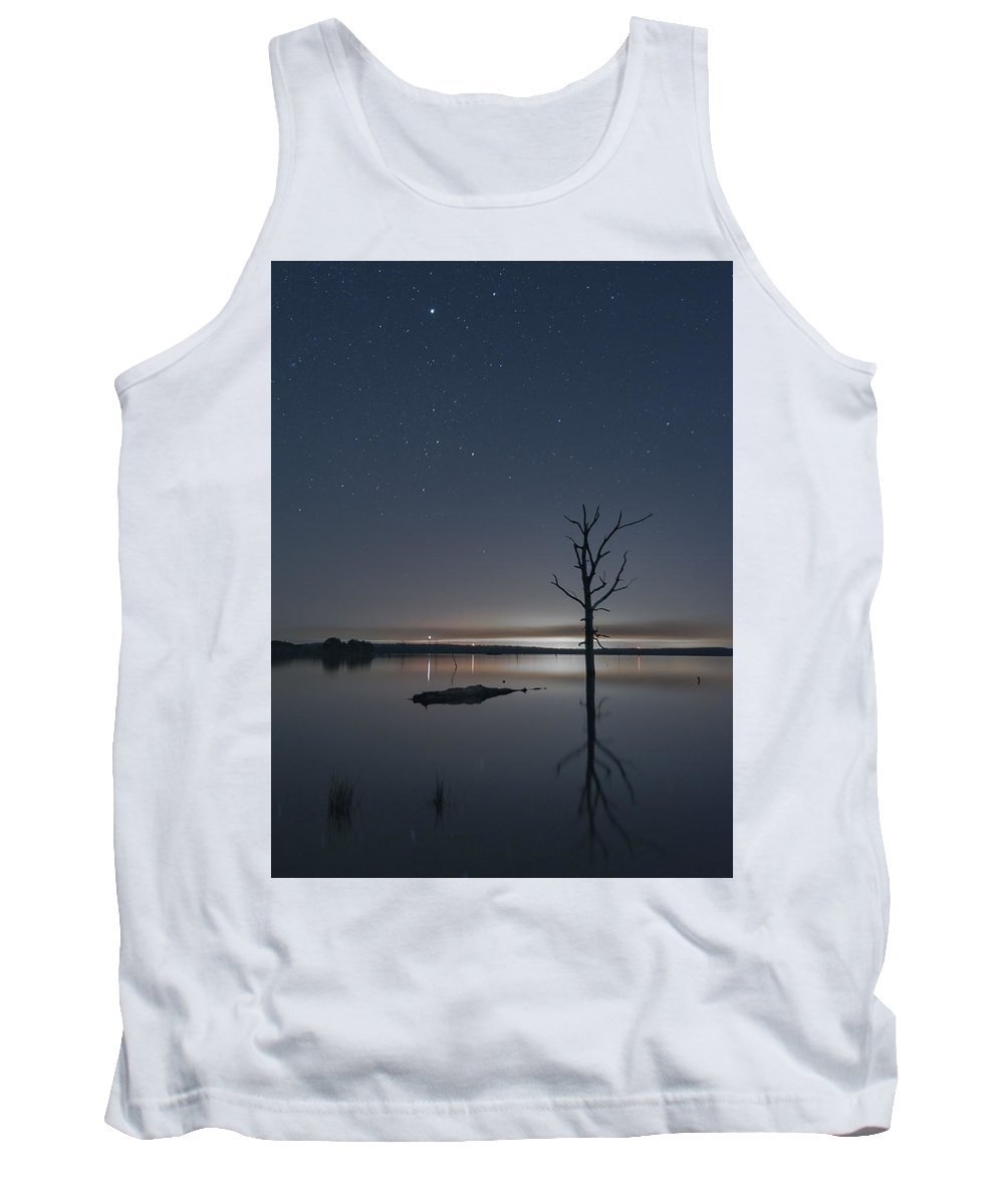 Nightscape Tank Top featuring the photograph Under The Stars by M E Cater