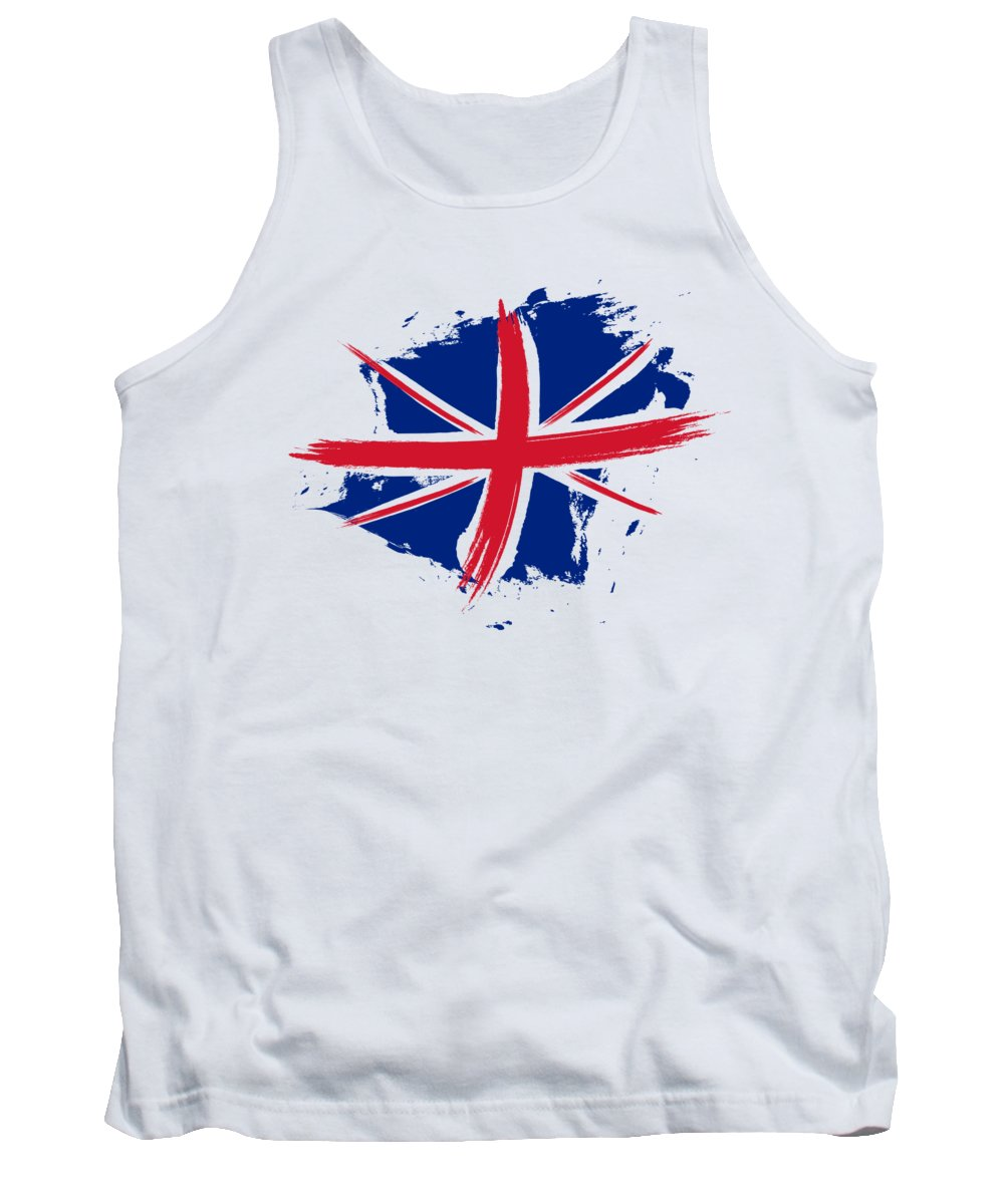 Union Jack Tank Top featuring the digital art Union Jack - Flag Of The United Kingdom by Stefano Senise